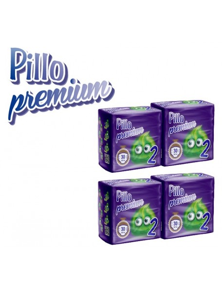 PANNOLOINI PILLO PREMIUM MINI 3-6 kg 120 PZ