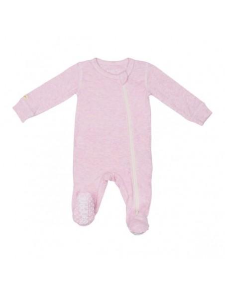 Juddlies Designs - Tutina con piede antiscivolo - 100% cotone Rosa