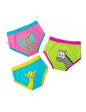 ZOOCCHINI training pants 3-pack Girls safari