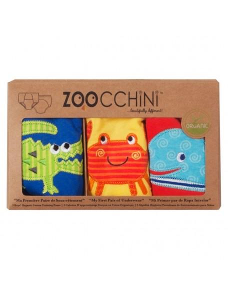 Zoocchini - Training pants 3-pack Boys - Ocean friends