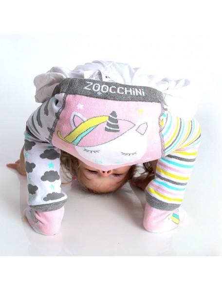 ZOOCCHINI Leggings Antiscivolo+Calzini Unicorno