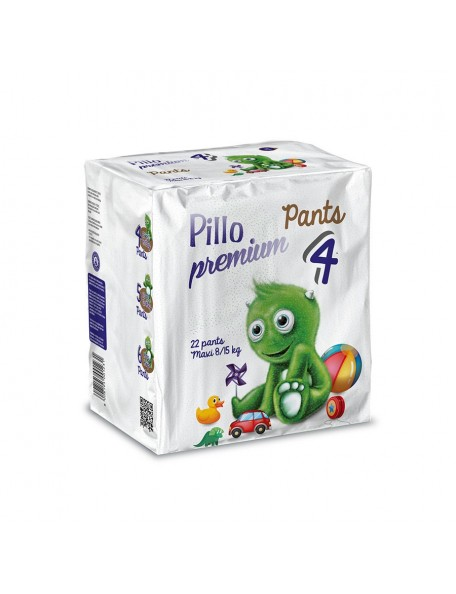 Pillo Pants Premium - Pannolini  Mutandina Maxi  8-15 Kg 22 Pz