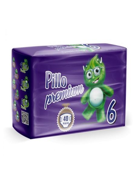 Pillo Premium Pannolini Jumbo  16+ Kg 40 Pz