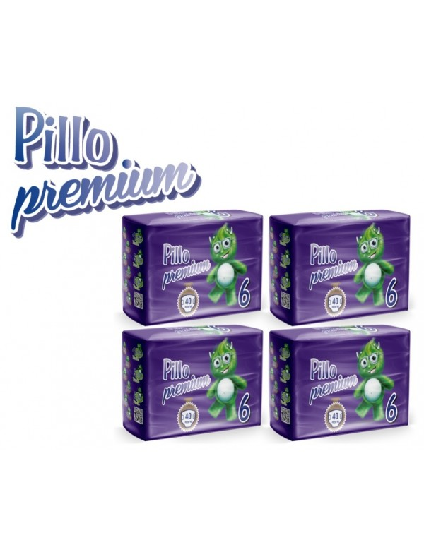 Pillo Premium Pannolini Jumbo  16+ Kg 160 Pz
