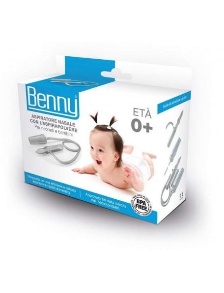Benny - Aspiratore nasale per aspirapolvere