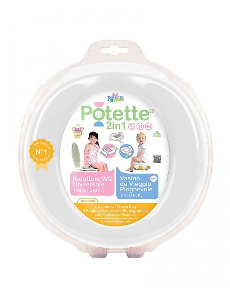 Potette - Vasino&riduttore 2in1
