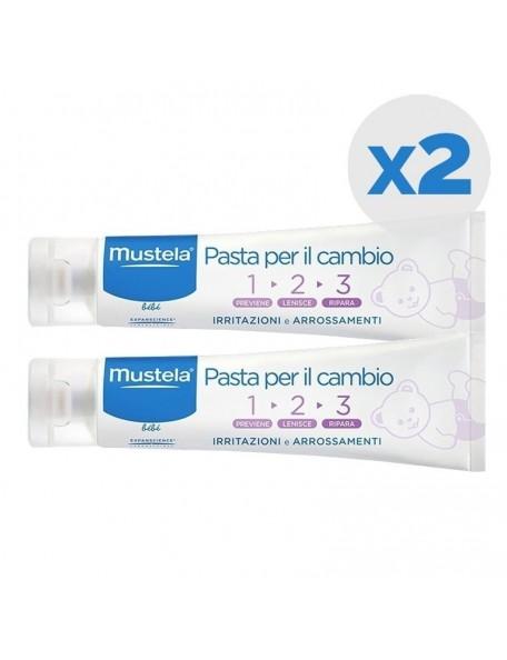 Mustela Pasta Cambio 123 - confezione doppia 2 x 100 ml