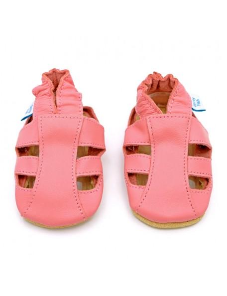 Dotty Fish - Sandalo Pelle - Rosa aperto