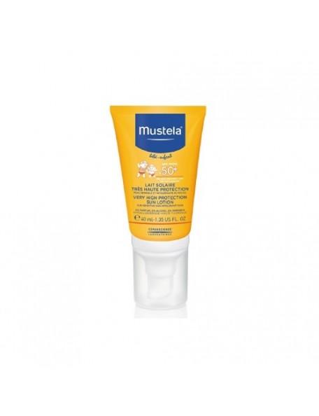 Mustela - Latte Protettivo solare viso 50+ - 40 ml