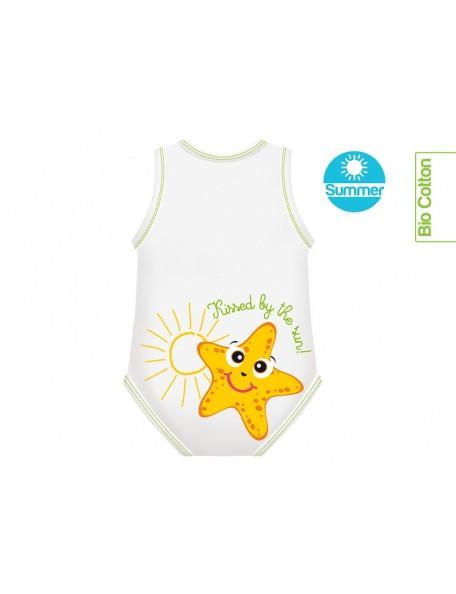 J Body - 0-36 mesi  - Bio Cotton Summer - Smanicato Stella Marina