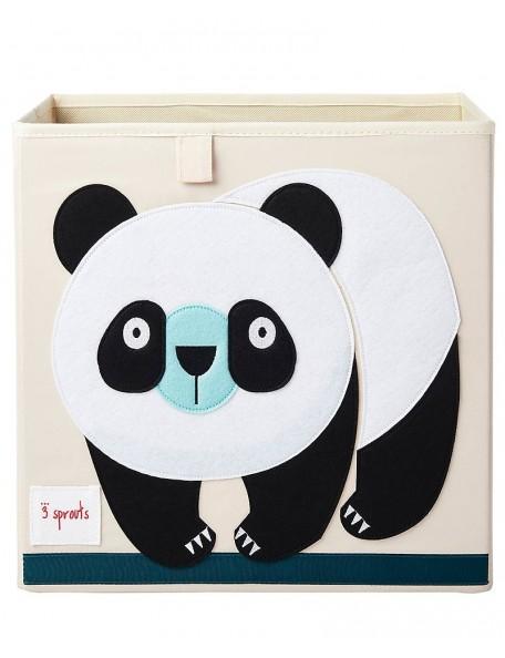 3Sprouts - Contenitore portaoggetti  - Panda