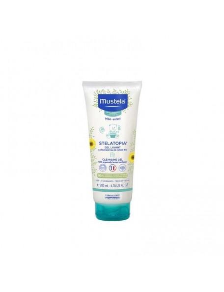 Mustela - Stelatopia crema detergente - Limited Edition - Leone il Girasole - 200 ml