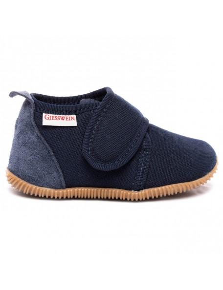 GIESSWEIN - Pantofola Slim Fit - 100% Cotone - Blu