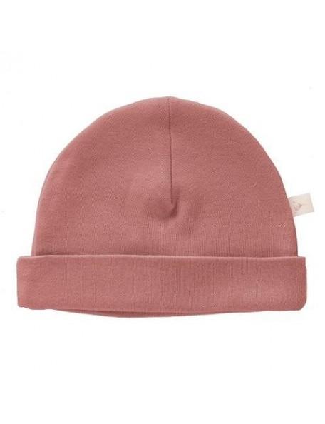 Fresk - Cappellino neonato - Cotone Bio - Rosa Antico