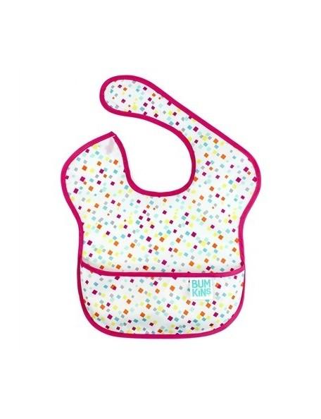 Bumkins - Bavaglino con tasca  - Confetti - 6/24 mesi