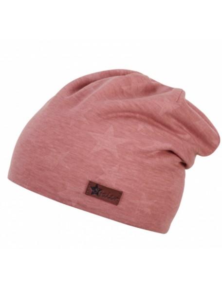 Sterntaler - Cappellino Stelle Rosa/Corallo