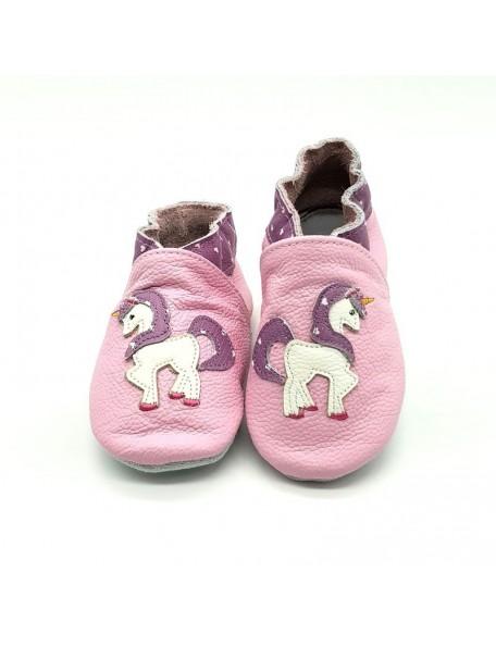 Le Peppe - Pantofole Pelle - Unicorno