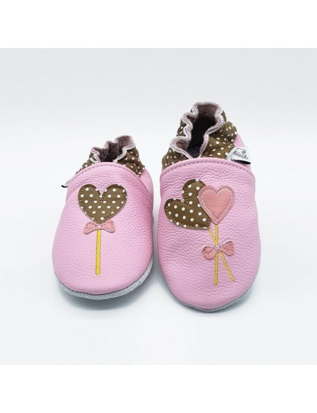 Le Peppe - Pantofole Pelle - Palloncini/Lollipop