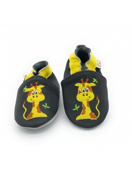 Le Peppe - Pantofole Pelle - Giraffa