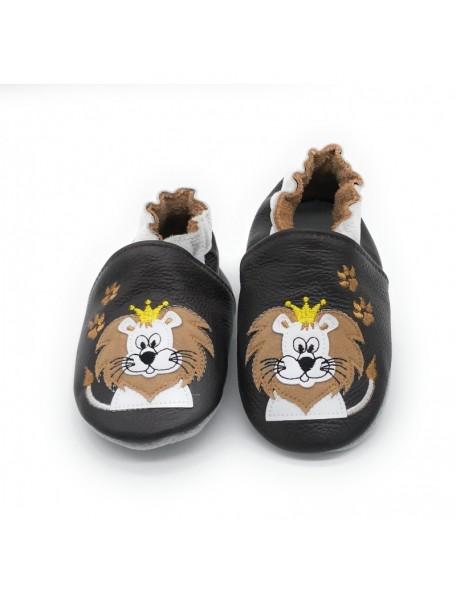 Le Peppe - Pantofole Pelle - Re leone