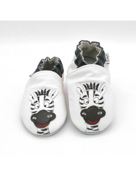 Le Peppe - Pantofole Pelle - Zebra