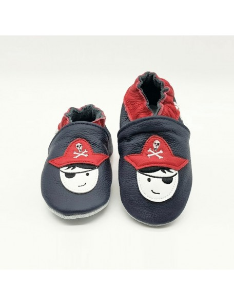 Le Peppe - Pantofole Pelle - Pirata