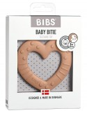 Bibs Colour - Massaggiagengive Baby Bitie - Cuore Pesca