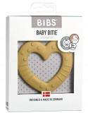 Bibs Colour - Massaggiagengive Baby Bitie - Cuore Mostarda