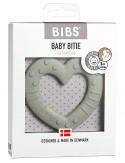 Bibs Colour - Massaggiagengive Baby Bitie - Cuore Salvia