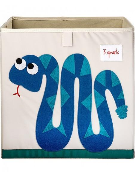 3Sprouts - Contenitore portaoggetti  - Serpente