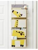 3Sprouts - Organizer muro/porta con ganci - Giraffa