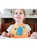 Make My Day - Bavaglino morbido silicone con tasca - Polipo
