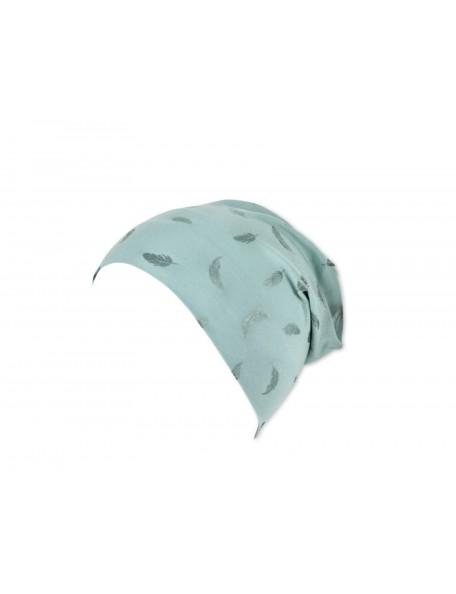 Sterntaler - Cappellino Piume azzurro