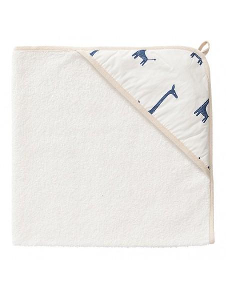 Fresk - Accappatoio Bio in Spugna - Giraffa Indigo Blu