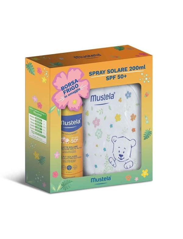 Mustela - Spray solare 50+ - 200 ml - Borsa frigo omaggio