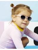 Ki et La - Occhiali da Sole Baby 2-4 Anni - Wazz Rosa Pallido