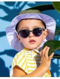 Ki et La - Occhiali da Sole Baby 2-4 Anni - Wazz Nero