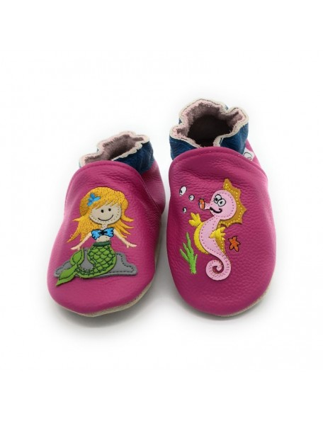 Le Peppe - Pantofole Pelle - Sirenetta