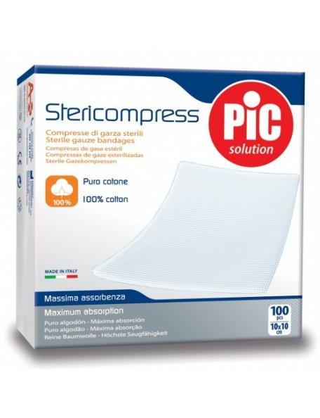 Pic - Stericompress - 100% Cotone