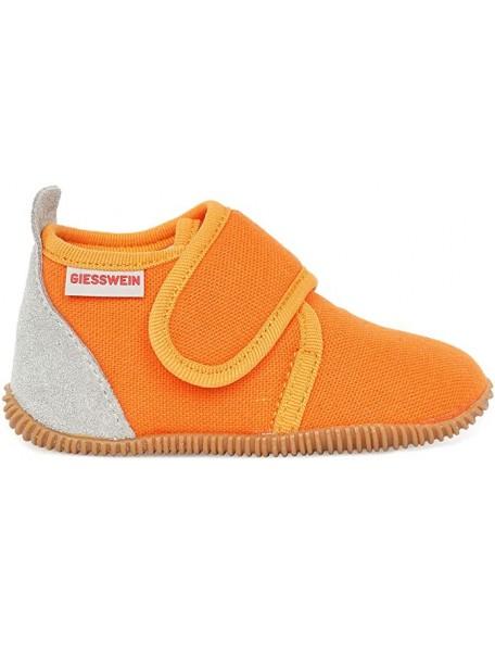 GIESSWEIN - Pantofola Slim Fit - 100% Cotone - Arancione