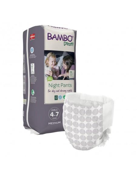 Bambo - Dreamy Night Pants Girl 4-7 anni - 15-35 Kg