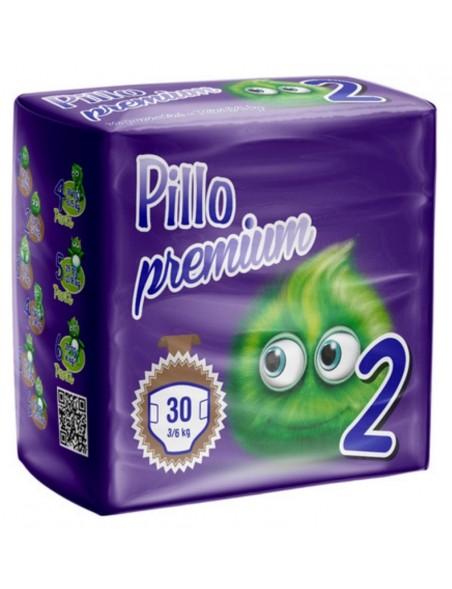 Pillo Premium Pannolini Mini  3-6 Kg 30 Pz