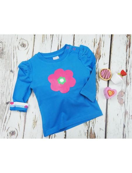 Blade&Rose - Maglietta maniche lunghe - Blu/Azzurro Fiore Rosa
