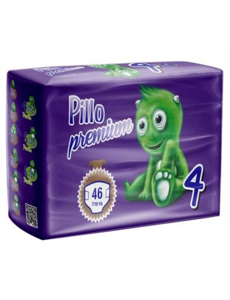 Pillo Premium Pannolini Maxi  7-18 Kg 46 Pz
