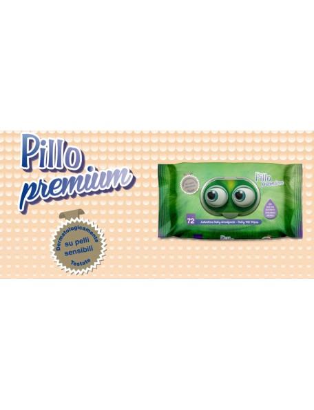 Pillo Premium Salviette Umidificate 72 Pz